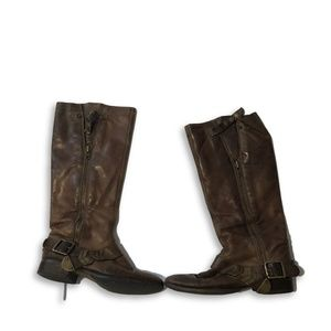 Arturo Chiang Leather Women's Riding Boots